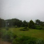 View from the window - Foggy Saturday Morning
