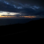 Sunset at Countisbury Hill